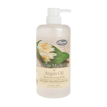 O'NAOMI - White Michelia Argan Oil Moisturizing Bath - 800ML