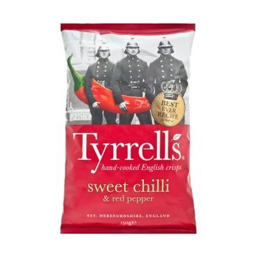 TYRRELLS - 薯片-甜紅胡椒味 - 150G