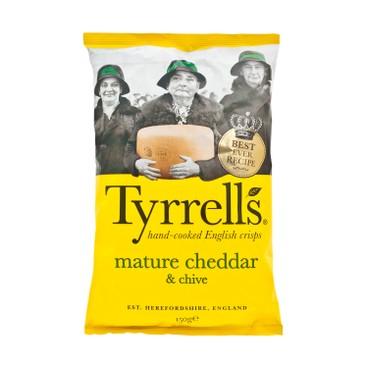 TYRRELLS - 薯片-車打芝士及香葱味 - 150G