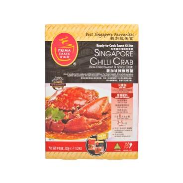 百勝廚 - 即煮醬和預調料-新加坡辣椒螃蟹 - 320G