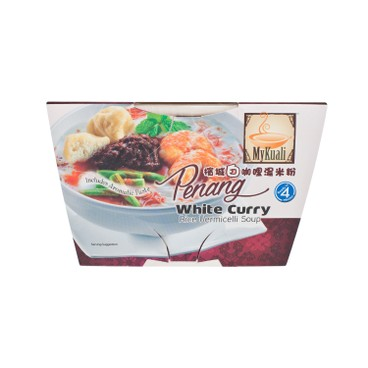 MYKUALI - Penang White Curry Rice Vermicelli Soup - 90G