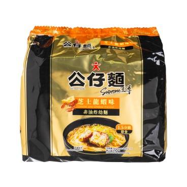 公仔 - 至尊非油炸幼麵-芝士龍蝦味 - 85GX5