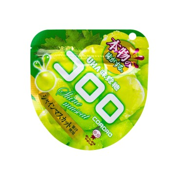 UHA - Cororo Gummy Candy green Muscat Grape - 40G