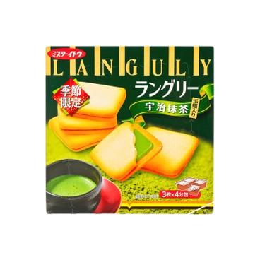 伊多 - 三文治餅-綠茶朱古力 - 12'S