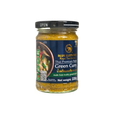 BLUE ELEPHANT - Green Curry Paste - 220G
