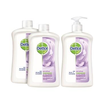 DETTOL - Anti bacterial Handwash Sensitive twinpack - 500GX3