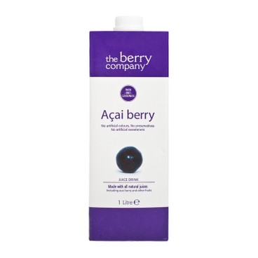 THE BERRY CO.(PARALLEL IMPORT) - Acai Berry Juice - 1L