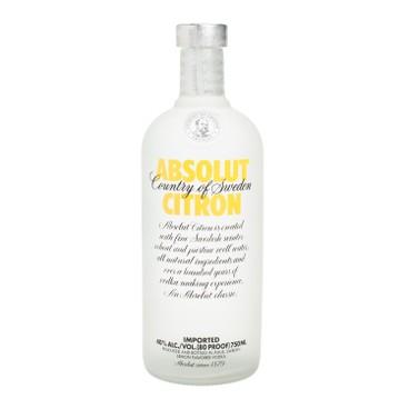 ABSOLUT - 伏特加-檸檬味 - 75CL