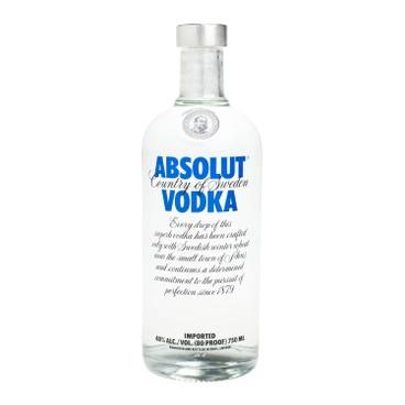 ABSOLUT - Vodka blue - 75CL