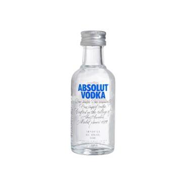 ABSOLUT - 伏特加 - 原味(酒辦) - 5CL