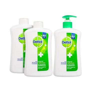 DETTOL - Handwash pine - 500GX3