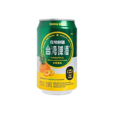 台灣啤酒 - 水果啤酒-鳳梨味 - 330ML