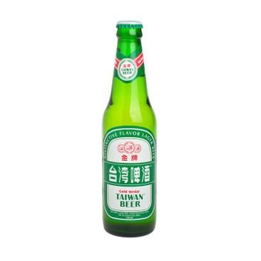 台灣啤酒 - 金牌啤酒(樽裝) - 330ML