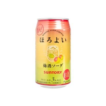 三得利啤酒 - 梳打酒 - 微醉 梅子汽水 - 350ML