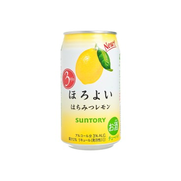 SUNTORY - Horoyoi Honey Lemon - 350ML