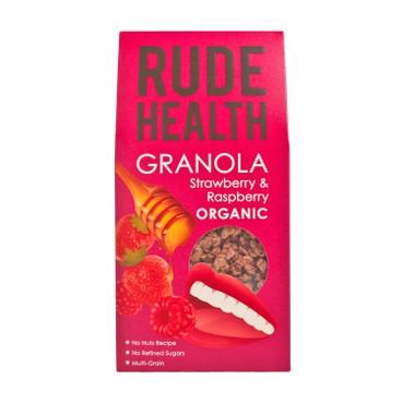 RUDE HEALTH (平行進口) - 有機脆麥-士多啤梨紅莓 - 450G