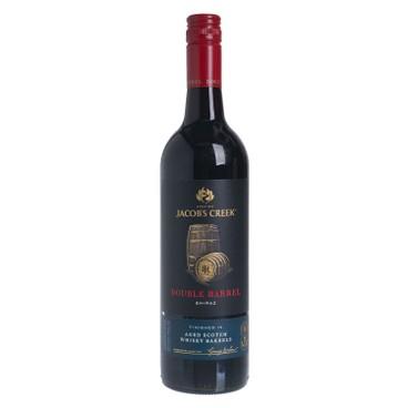 JACOB'S CREEK傑卡斯(平行進口) - 紅酒 - 雙桶熟成切拉子 (DOUBLE BARREL) - 75CL