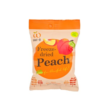 WEL-B - 100 Natural Freeze dried Peach - 14G