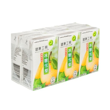 HEALTHWORKS - Rock Sugar With Pear Drink - 250MLX6