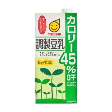 丸山 - 減45%卡路里調製豆乳 - 1L