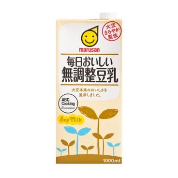 丸山 - 無基因改造無調製豆乳 - 1L