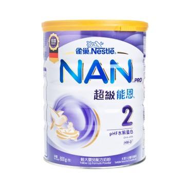 NESTLE - Nan Pro Milk Formula 2 - 800G