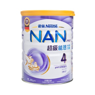 NESTLE - Nan Pro Milk Formula 4 - 800G