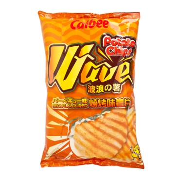 CALBEE - Potato Chips bbq Flavour - 200G