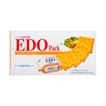 EDO PACK - Cheese Cracker - 172G