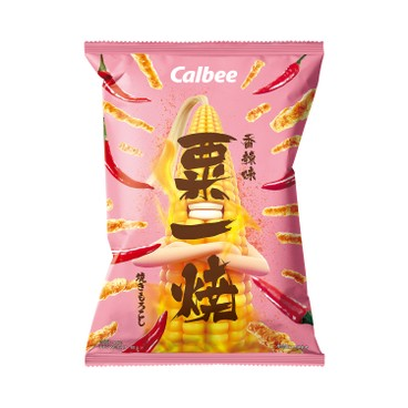 CALBEE - GRILL-A-CORN-HOT AND SPICY FLAVOURED - 80G