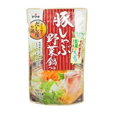 YAMAKI - Pork Yasai Hot Potsoup - 750G