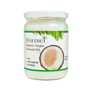 O'COCONUT - 有機初榨冷壓椰子油 - 500ML