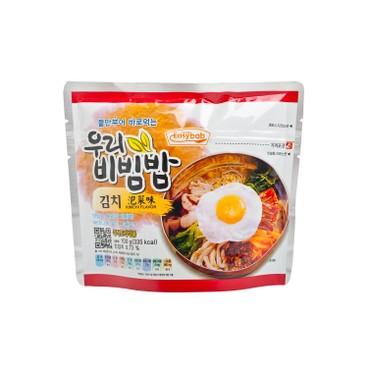 EASYBAB - Instant Rice Kimchi Flavor - 100G