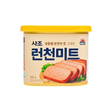 SAJO - Luncheon Meat Korean Version - 340G