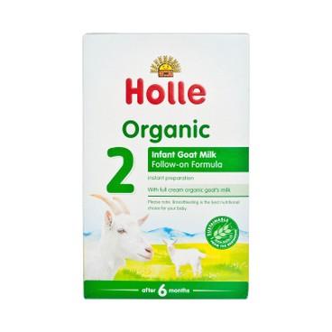 HOLLE - Organic Infant Goat Milk Follow on Formula 2 - 400G
