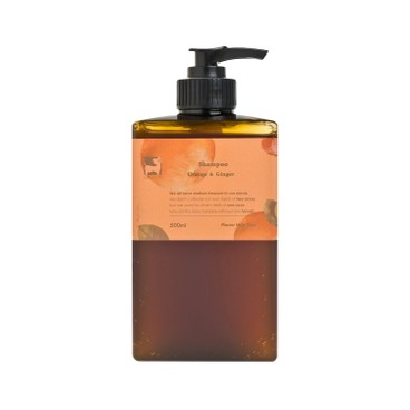 GINGERGINGER - Orange Ginger Shampoo - 500ML