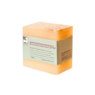 薑心比心 - (保濕去角質)白薑花燕麥皂 - 110G
