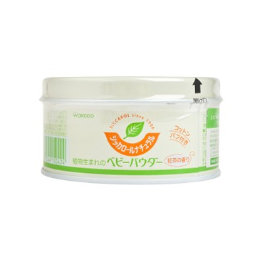 WAKODO - Talc free Baby Powder With Puff corn Starch - 120G