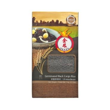 GOLDEN PHOENIX - Germinated Black Cargo Rice - 1KG