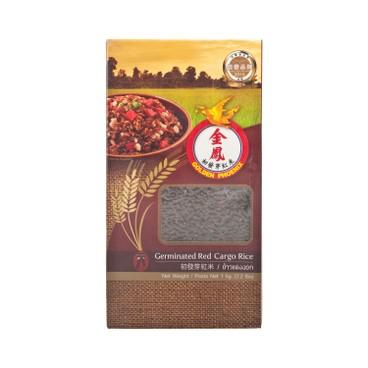 GOLDEN PHOENIX - Germinated Red Cargo Rice - 1KG