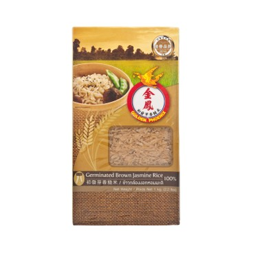 GOLDEN PHOENIX - Germinated Brown Jasmine Rice - 1KG