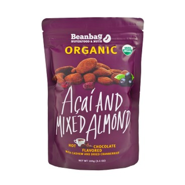 BEANBAG - Organic Acai And Mixed Almond With Hot Chocolate Flavored - 100G
