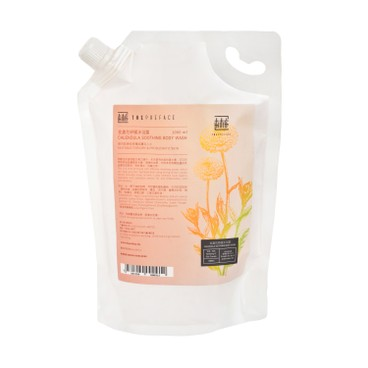 THE PREFACE - Calendula Soothing Body Wash family Pack - 1L
