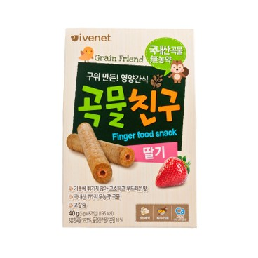 IVENET - Bebe Grain Friend strawberry - 40G