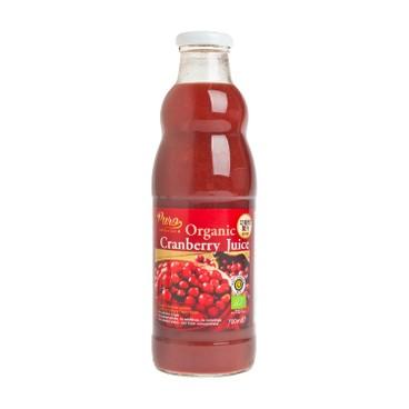 PURO - 100%有機純小紅莓汁 - 700ML
