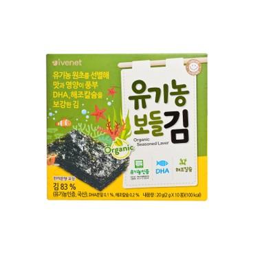 貝貝 - 有機營養紫菜(細包裝) - 2GX10