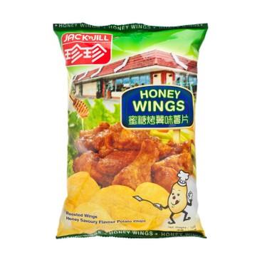 珍珍 - 薯片-蜜糖烤翼味 - 140G