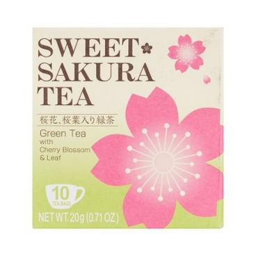 富澤商店 - 櫻花茶包-綠茶 - 2GX10