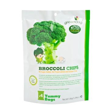 GREENDAY - Happy Fruit Farm Broccoli Chip - 36G
