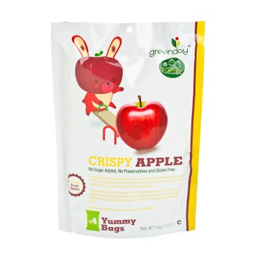 GREENDAY - 開心水果農場蘋果脆片 - 44G